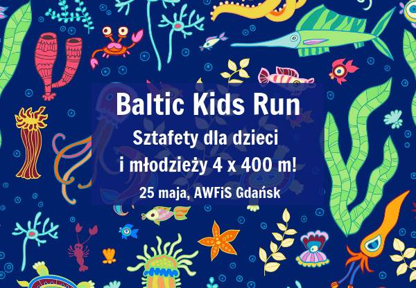 Baltic Kids Run Gdańsk 2019