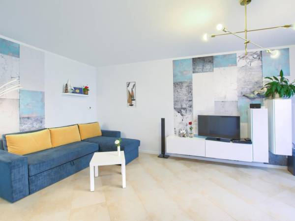 Apartament Wybrzeże - Salon