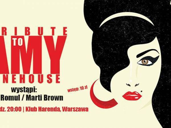 Koncert: Tribute to Amy Winehouse w Warszawie