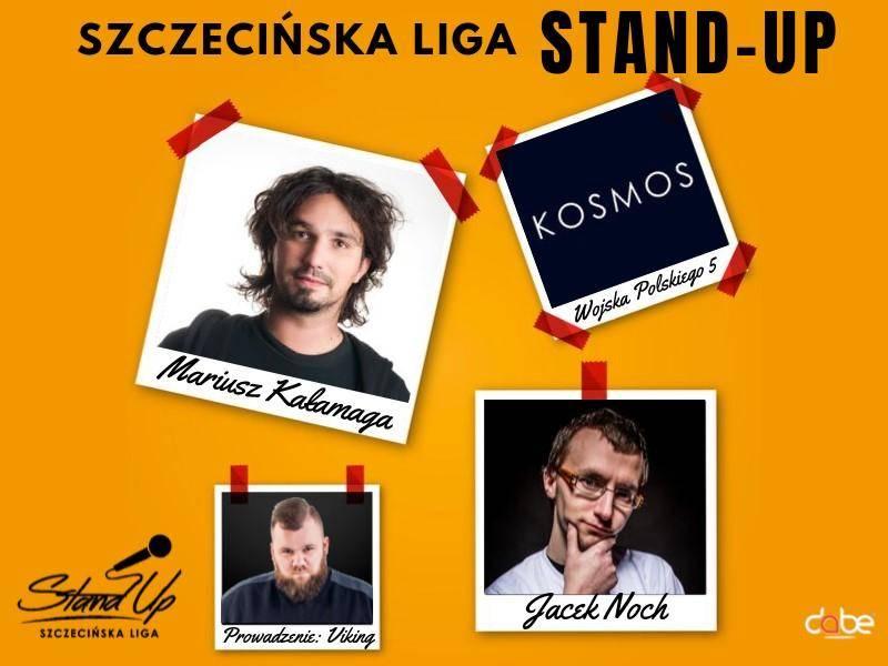 Szczecińska Liga Stand-Up- Mariusz Kałamaga, Jacek Noch w Szczecinie