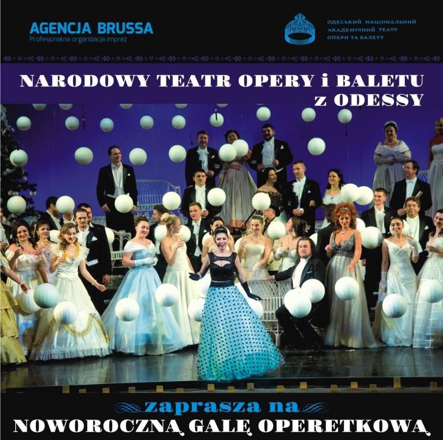 Noworoczna Gala Operetkowa w Dzierżoniowskim Ośrodku Kultury w Dzierżoniowie
