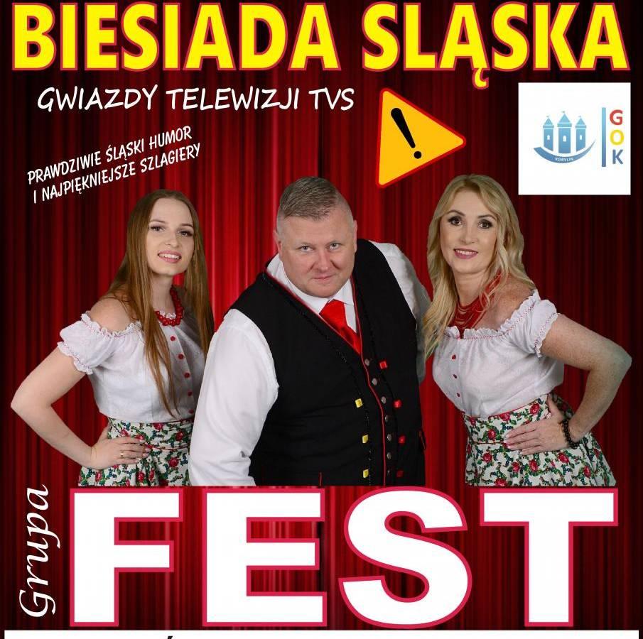 Kabaretowa Biesiada Śląska w Gminnym Ośrodku Kultury w Kobylinie