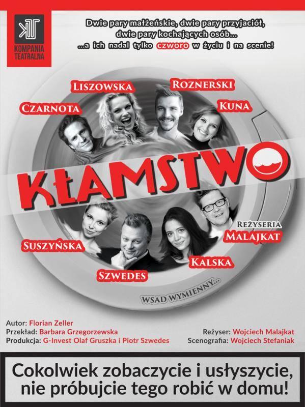 """Spektakl """"Kłamstwo"""" w Wałeckim Centrum Kultury"""