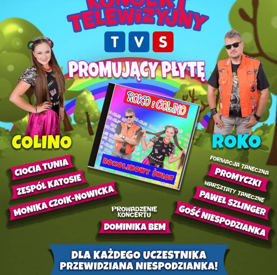 Koncert Roko i Colino w Centrum Kultury Śląskiej w Świętochłowicach