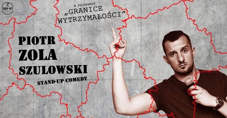 Piotr Zola Szulowski stand-up w MGOK w Tolkmicku