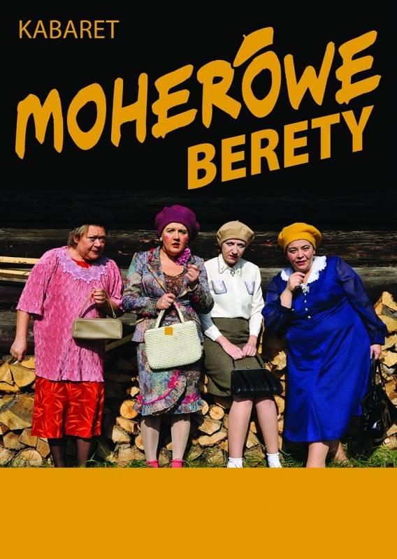 Kabaret Moherowe Berety w Teatrze Letnim w Ciechocinku