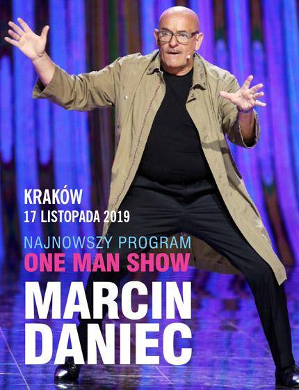 Wieczór kabaretowy Marcina Dańca w Auditorium Maximum UJ w Krakowie