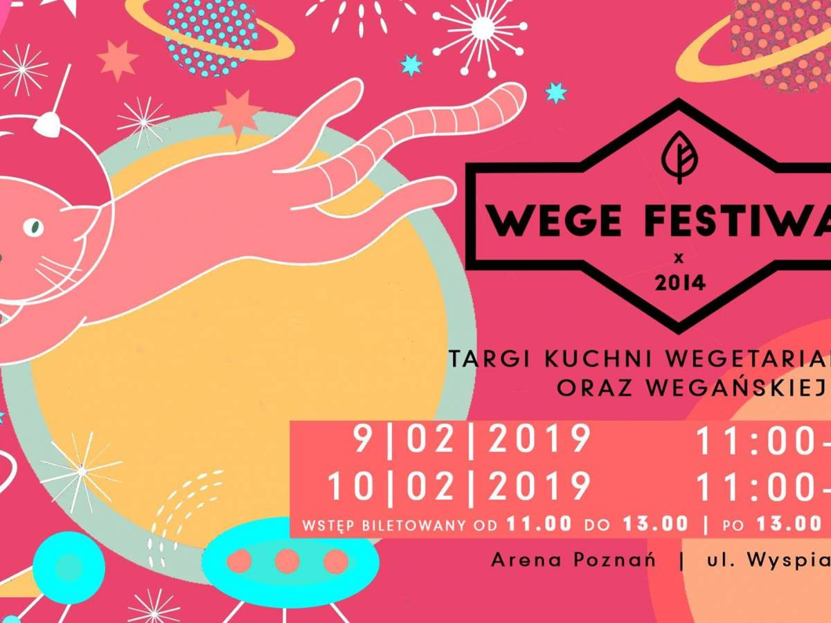 Wege Festiwal Poznań 2019 Targi Kuchni Wegańskiej I