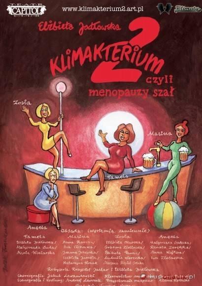 """Spektakl """"Klimakterium 2, czyli menopauzy szał"""" w Auli Pomnik w Gnieźnie"""