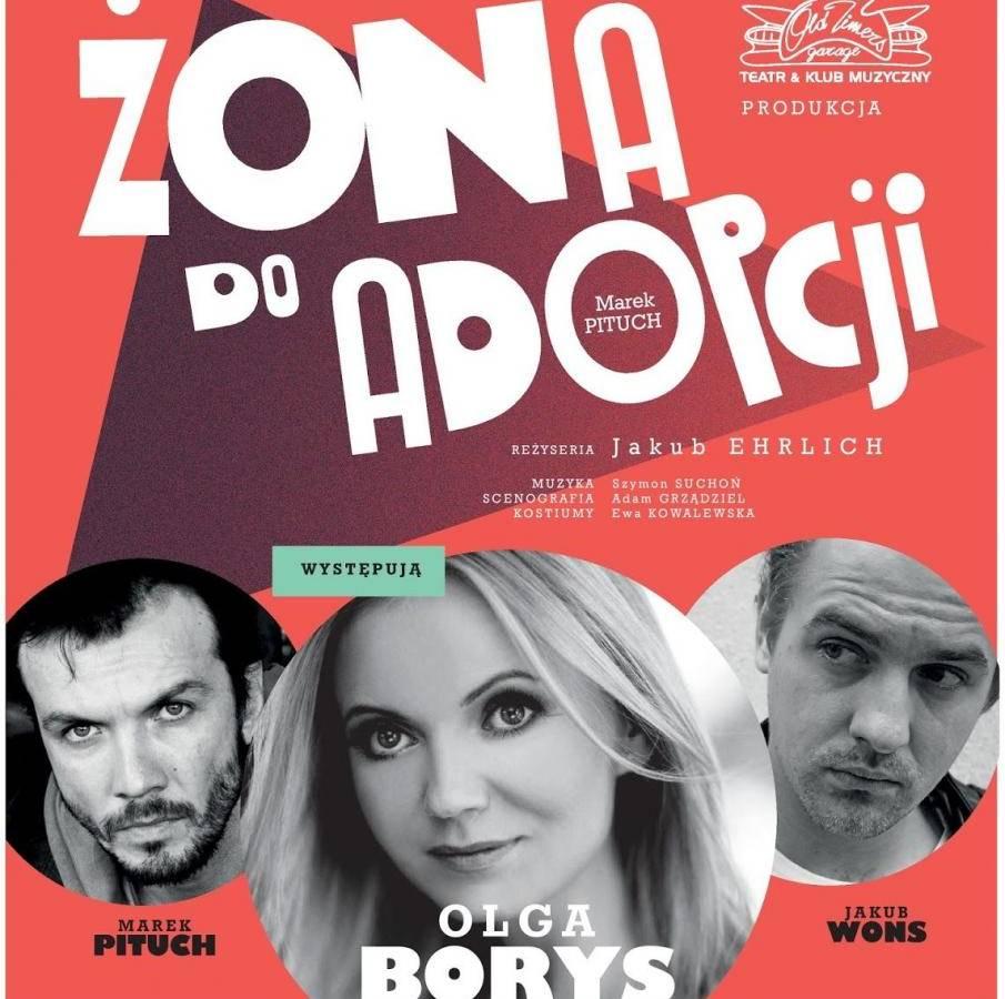 """Spektakl """"Żona do adopcji"""" w Miłosławskim Centrum Kultury"""