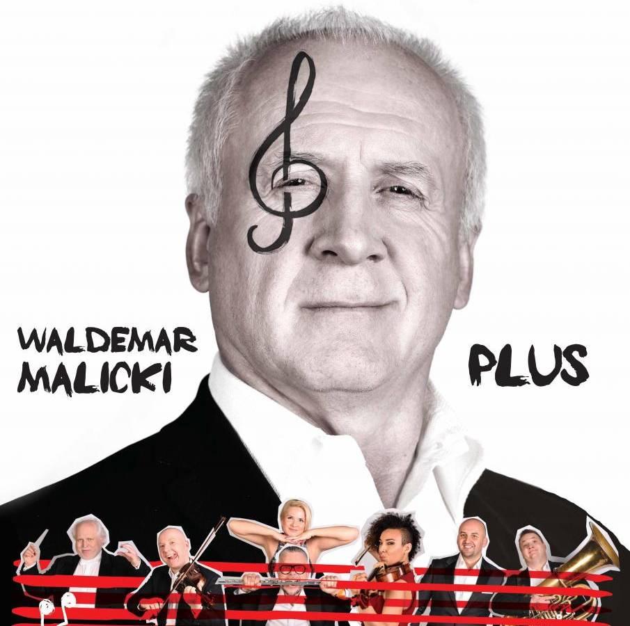 Koncert Waldemara Malickiego i Filharmonii Dowcipu w Krośnie