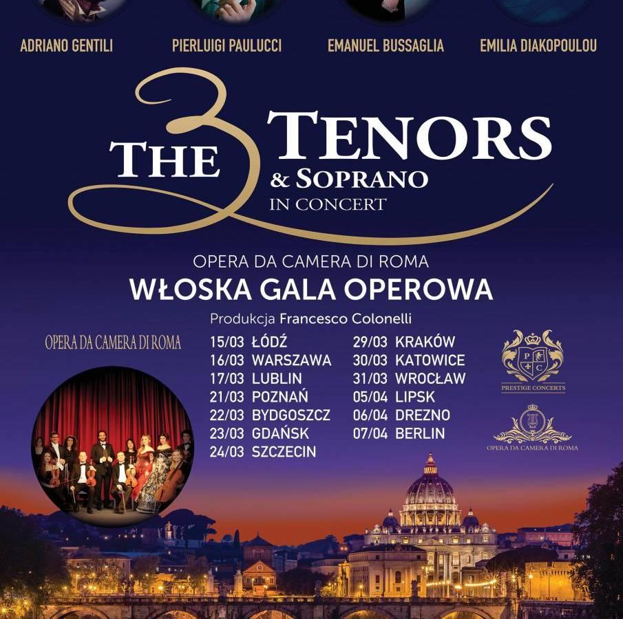 The 3 Tenors & Soprano - Włoska Gala Operetkowa w Międzyzdrojach