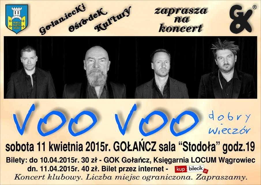 Koncert Voo Voo w Regionalnym Centrum Kultury w Kołobrzegu