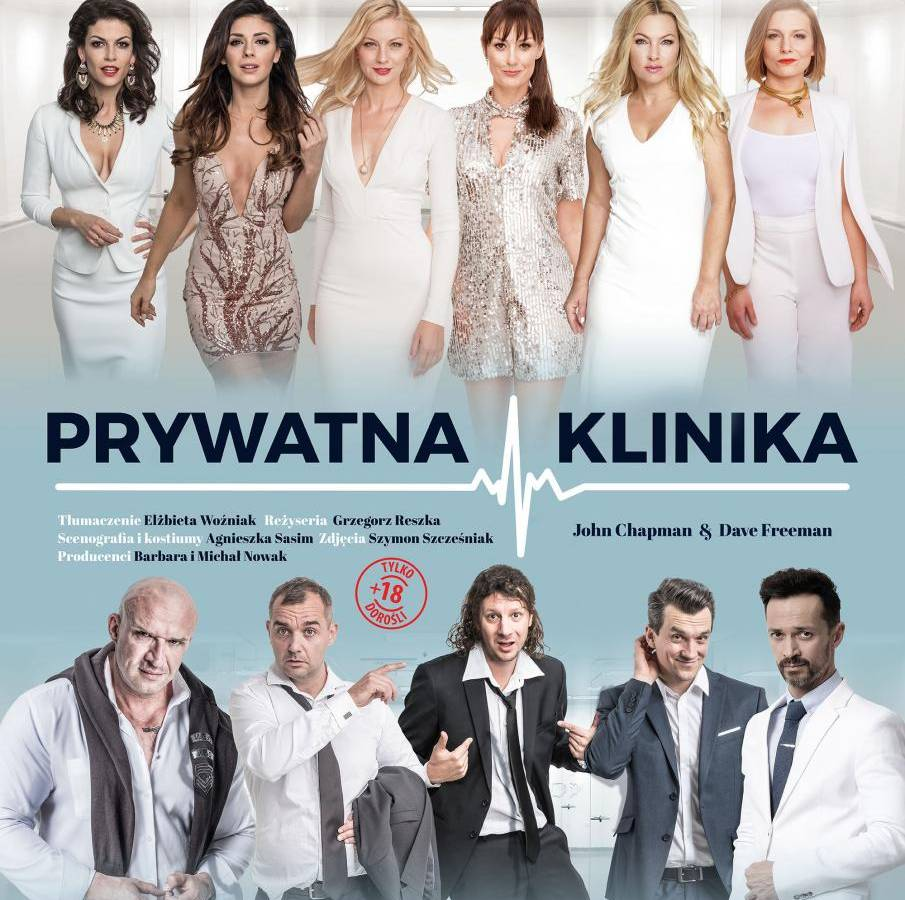 """Spektakl """"Prywatna klinika"""" w Bielskim Centrum Kultury w Bielsku-Białej"""