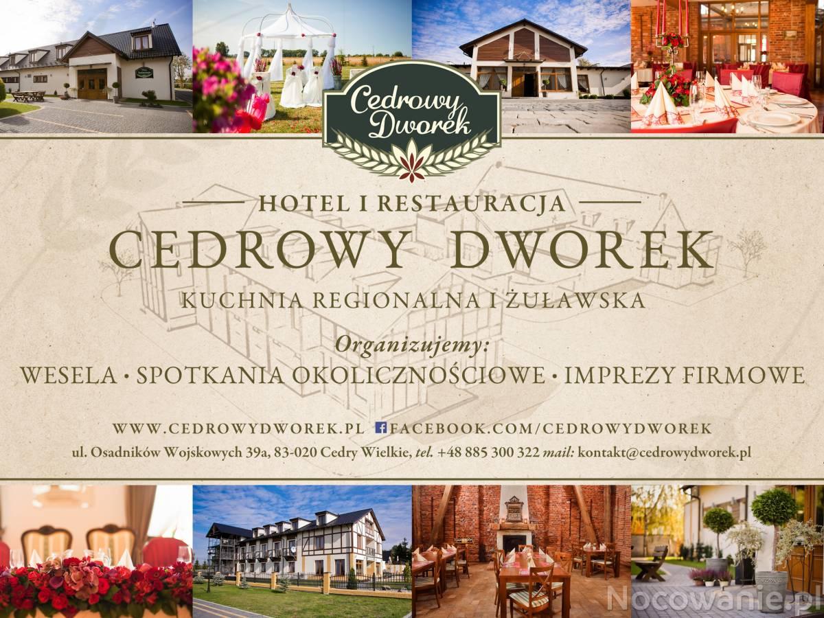 Cedrowy Dworek Gdańsk Cedrowy Dworek W Gdańsku