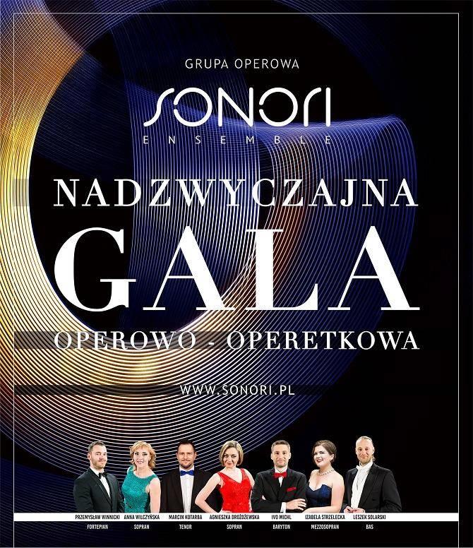 Gala Operowo-Operetkowa -Centrum Edukacji i Inicjatyw Kulturalnych w Olsztynie