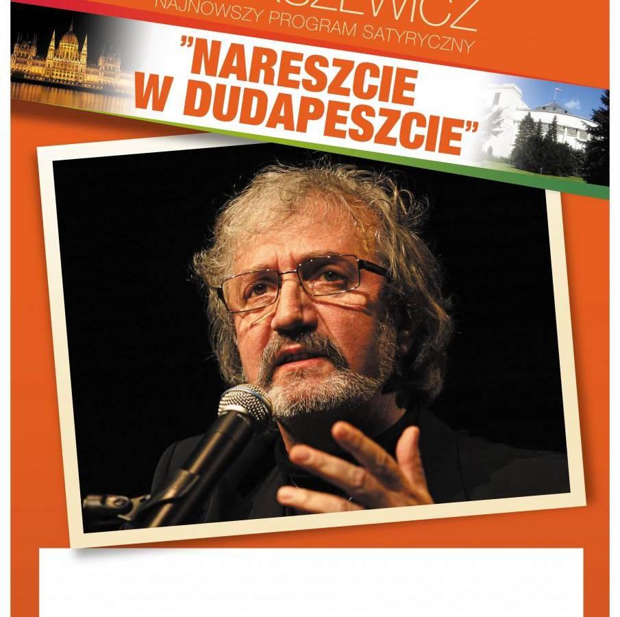 Krzysztof Daukszewicz: najnowszy program satyryczny w Tczewie