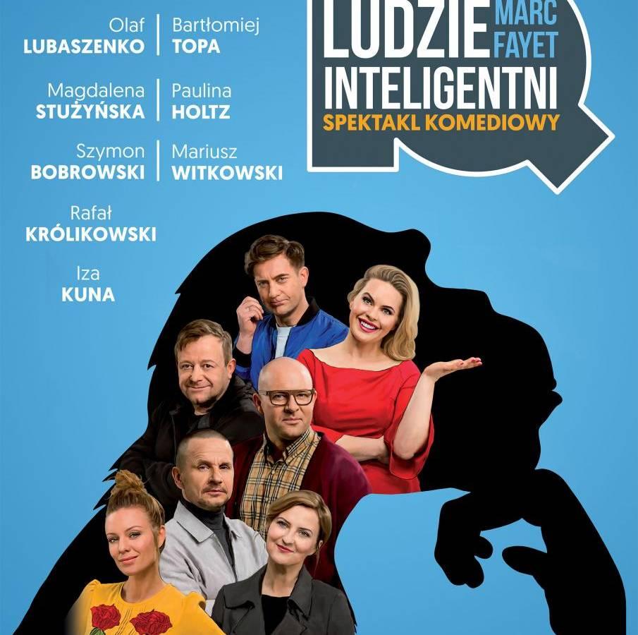 """Spektakl """"Ludzie inteligentni"""" w Teatrze Słowackiego w Krakowie"""