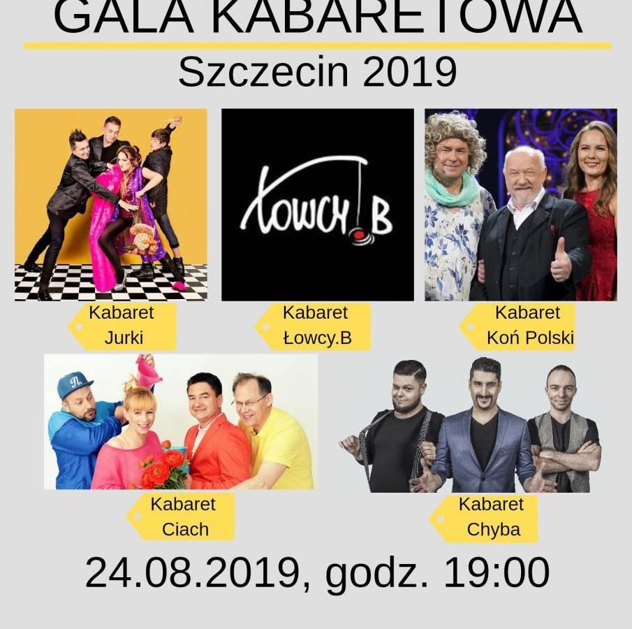 Gala Kabaretowa 2019 w Teatrze Letnim w Szczecinie