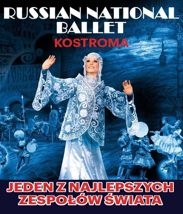 Russian National Ballet Kostroma w Filharmonii Świętokrzyskiej w Kielcach