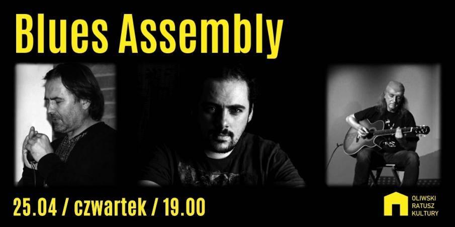Koncert w Oliwskim Ratuszu Kultury w Gdańsku: Blues Assembly
