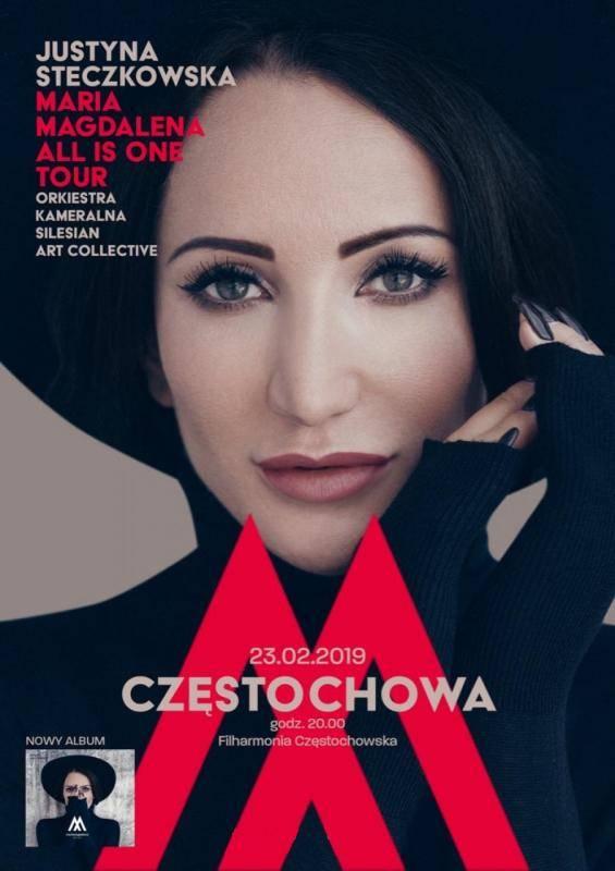 Koncert w Częstochowie: Justyna Steczkowska - Maria Magdalena
