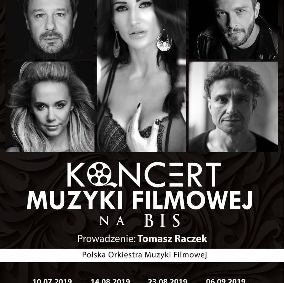 Koncert Muzyki Filmowej na BIS w Amfiteatrze w Kołobrzegu