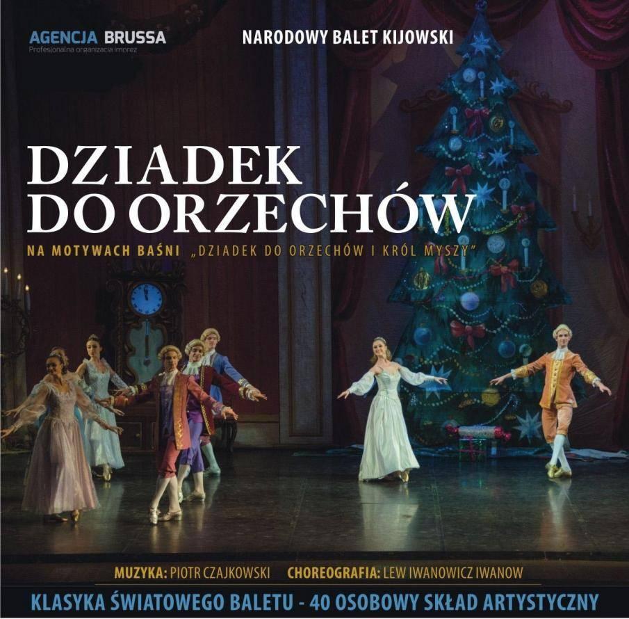 """Narodowy Balet Kijowski w Kielcach: """"Dziadek do orzechów"""""""