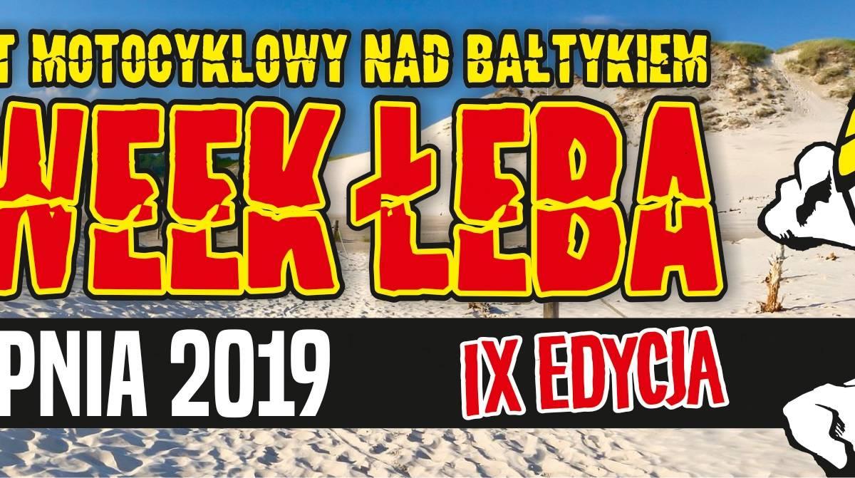 IX Międzynarodowy Zlot Motocyklowy BIKE WEEK ŁEBA 2019