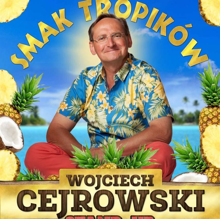 Stand-up Wojciecha Cejrowskiego w BCK w Bielsku-Białej: Smak tropików