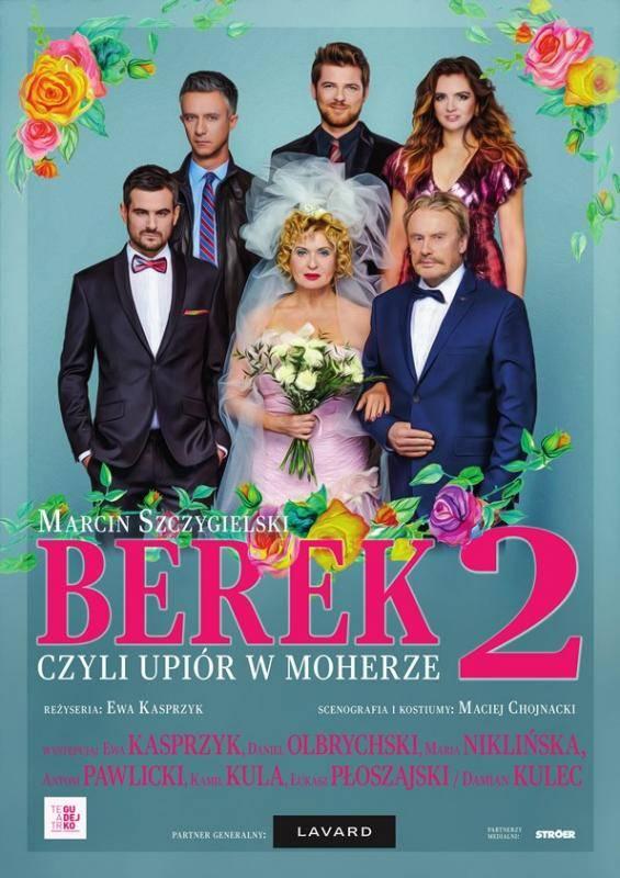 """Spektakl """"Berek, czyli upiór w moherze 2"""" w Dąbrowie Górniczej"""