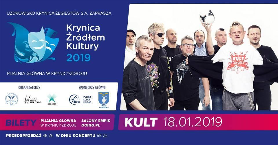 Koncert Kultu w Pijalni Głównej w Krynicy-Zdroju