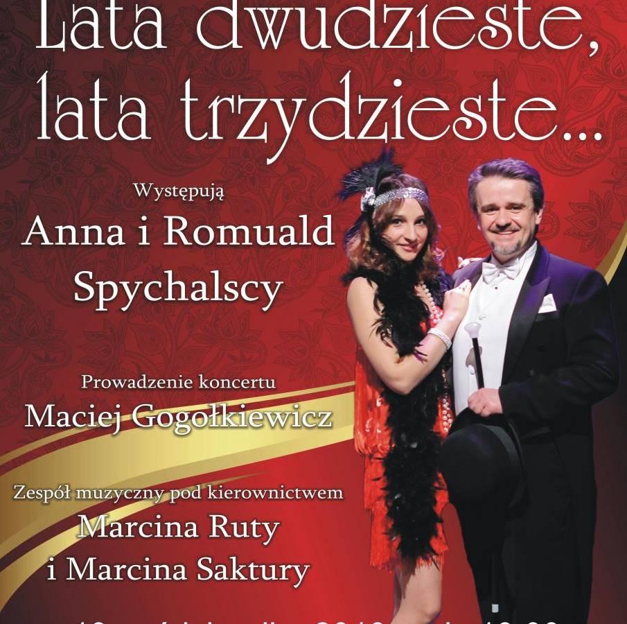 """Widowisko """"Lata 20-te, 30-te"""" w Kinie Sokół w Starogardzie Gdańskim"""