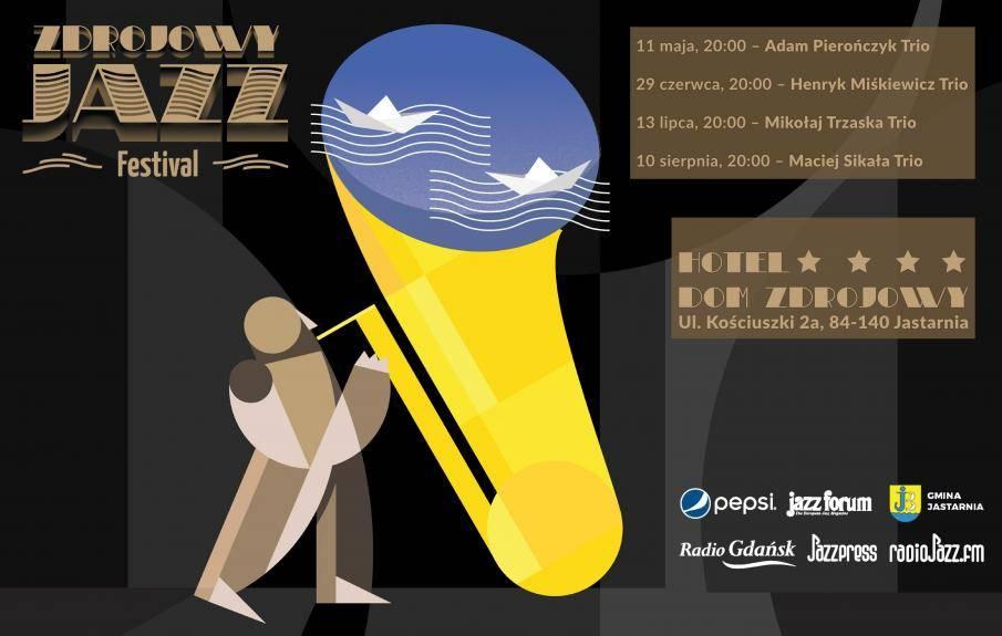 Zdrojowy Jazz Festival 2019 w Jastarni - Maciej Sikała Trio