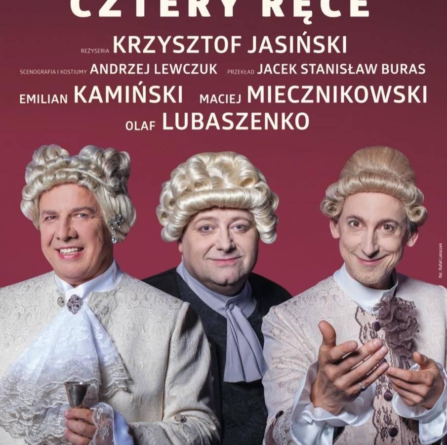 Spektakl Kolacja na 4 ręce w Teatrze Wielkim w Poznaniu