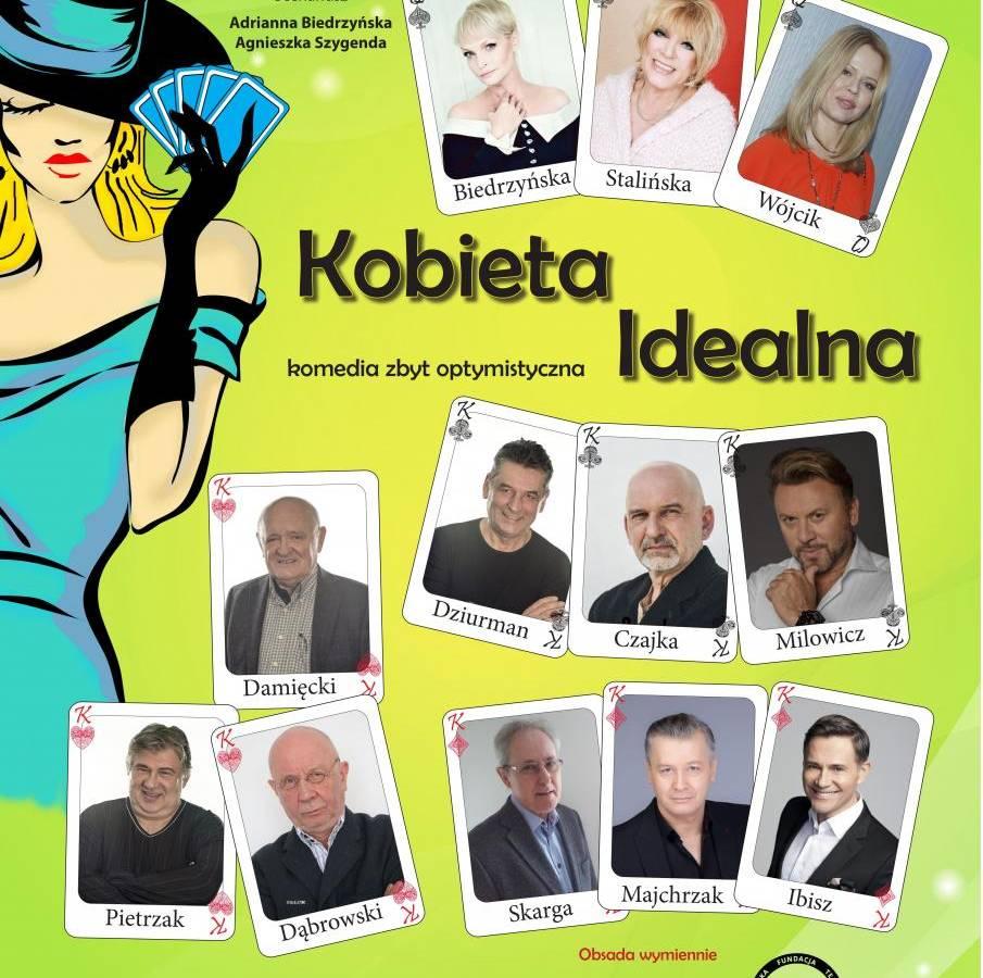 """Spektakl """"Kobieta idealna"""" w ZOK w Ząbkowicach Śląskich"""