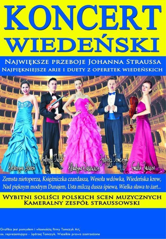 Noworoczny Koncert Wiedeński w Jarocińskim Ośrodku Kultury w Jarocinie