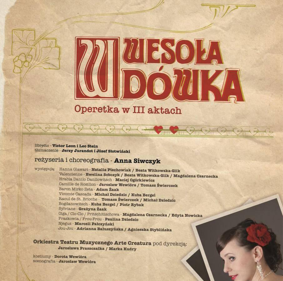 """Operetka """"Wesoław wdówka"""" w Filharmonii Śląskiej w Katowicach"""
