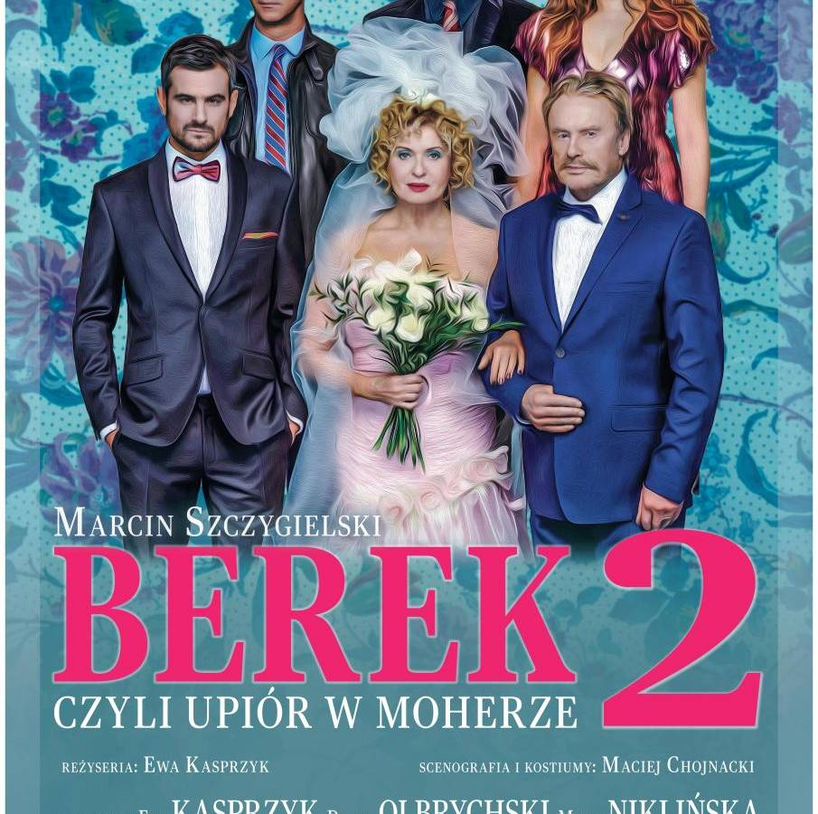 """Spektakl """"Berek, czyli upiór w moherze 2"""" w Miejskim Ośrodku Kultury w Głogowie"""