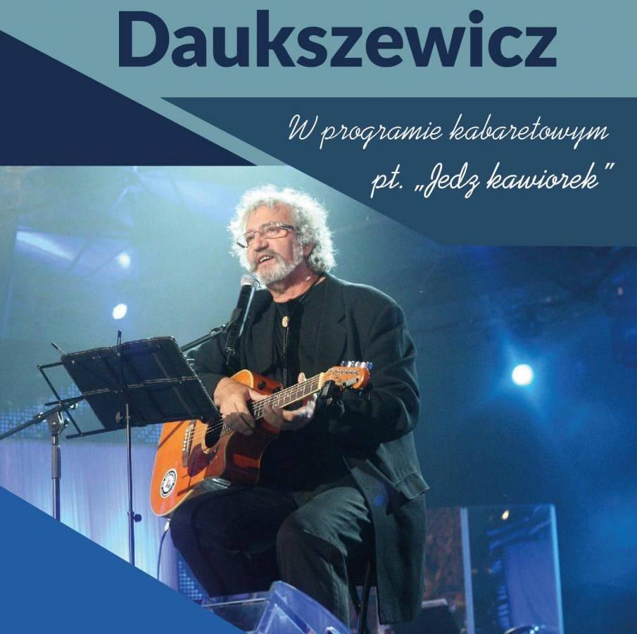 Krzysztof Daukszewicz w Obornickim Ośrodku Kultury w Obornikach: Jedz kawiorek!