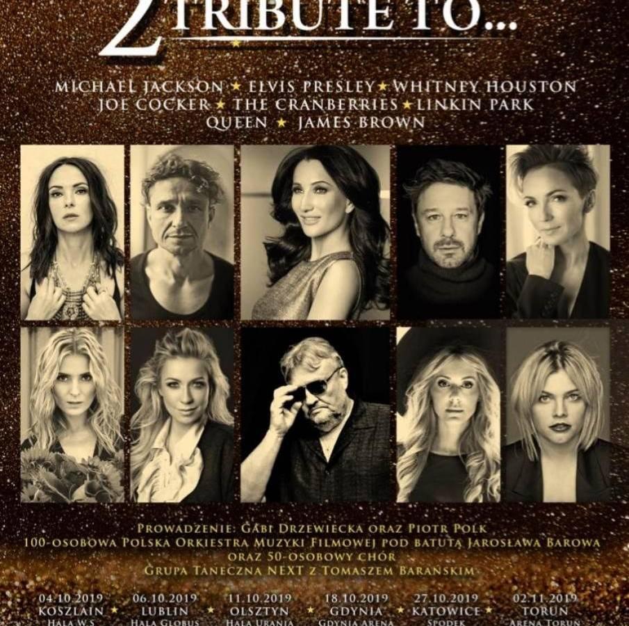 Koncert Tribute to... w Hali Widowiskowo-Sportowej w Koszalinie