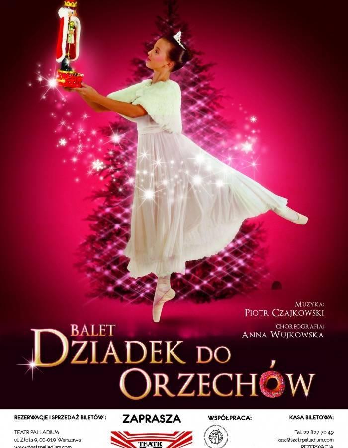 """piękno Los Angeles delikatne kolory Balet """"Dziadek do orzechów"""" w Teatrze Palladium w Warszawie"""