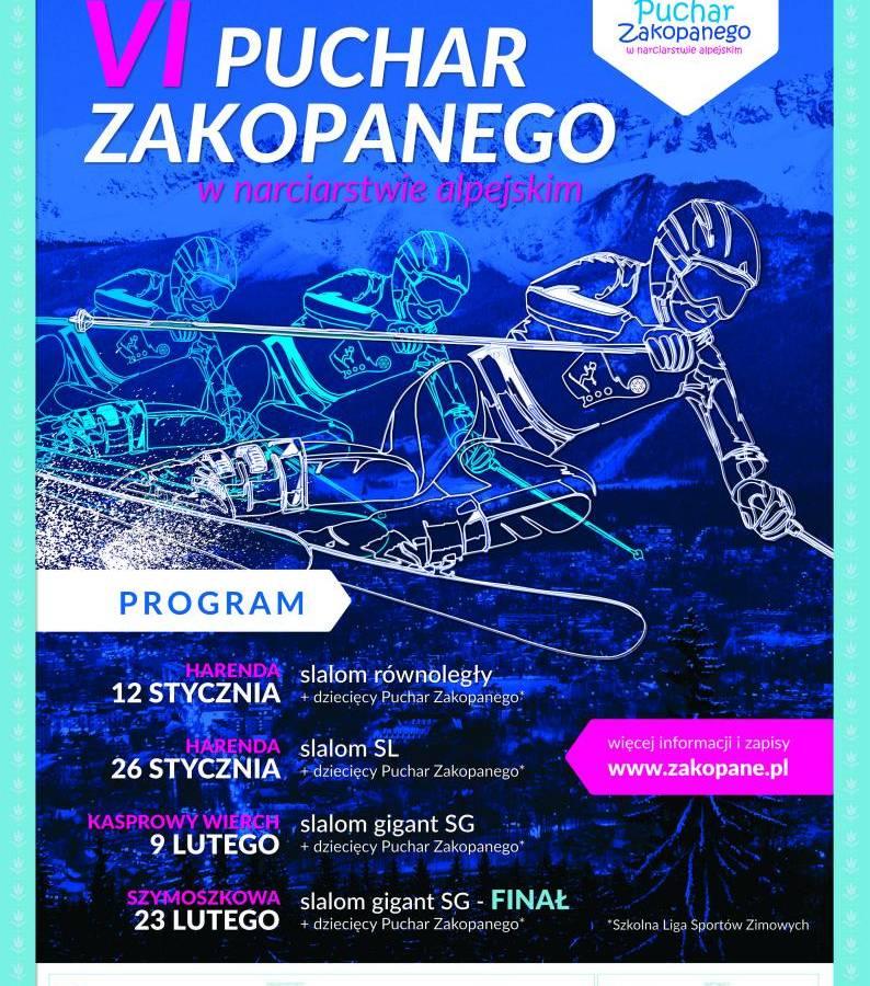 VI Puchar Zakopanego Amatorów w Narciarstwie Alpejskim: slalom SL