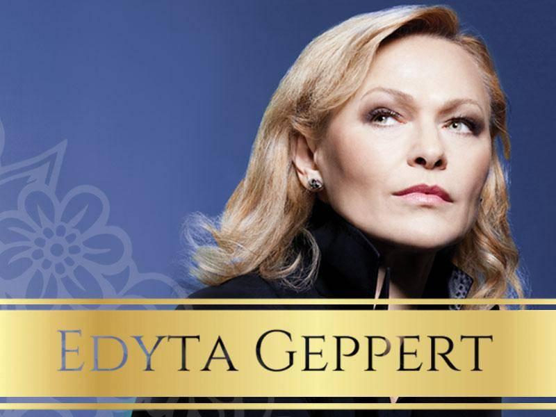 Koncert Edyty Geppert w Ełckim Centrum Kultury w Ełku