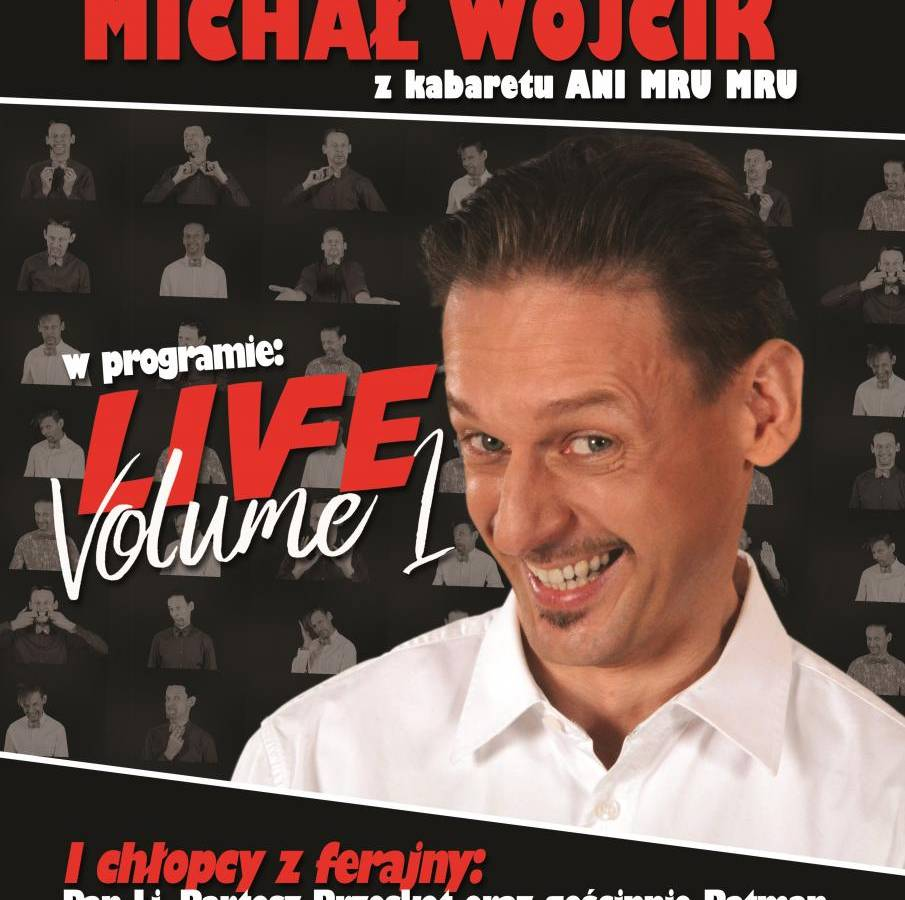 Michał Wójcik w Miejskim Centrum Kultury w Gostyninie: Live Volume 1