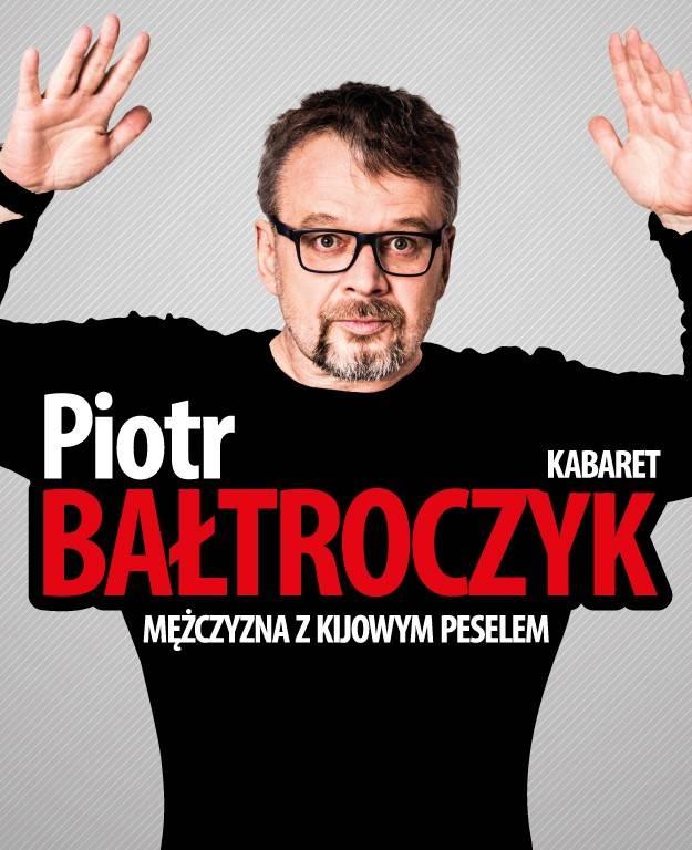 Piotr Bałtroczyk w Gorlickim Centrum Kultury: Mężczyzna z kijowym peselem