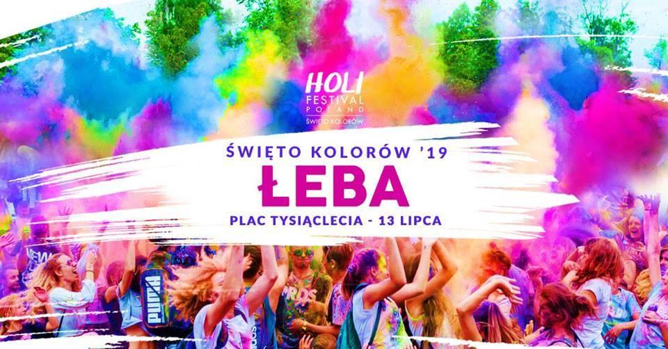 Święto Kolorów 2019 w Łebie