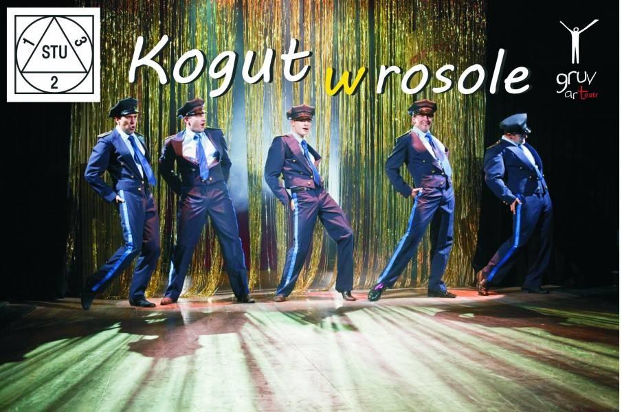 """Spektakl """"Kogut w rosole"""" w Teatrze DOM w Łodzi"""