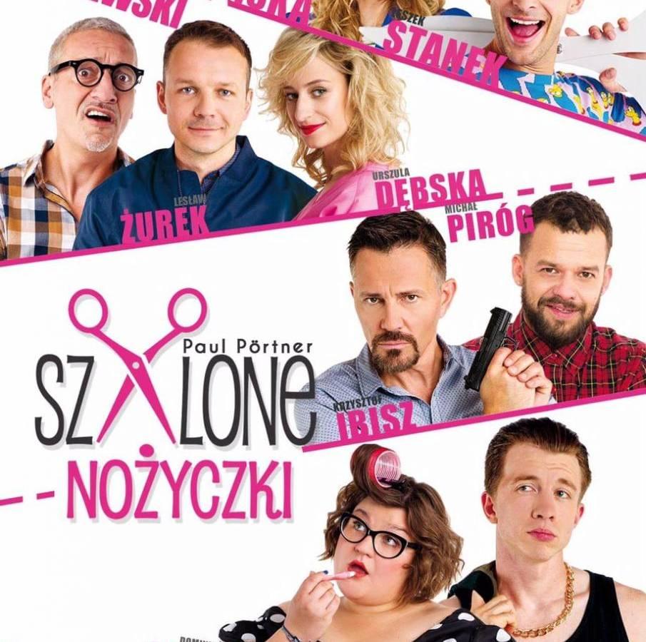 """Spektakl """"Szalone nożyczki"""" w CKiS Stara Kopalnia w Wałbrzychu"""