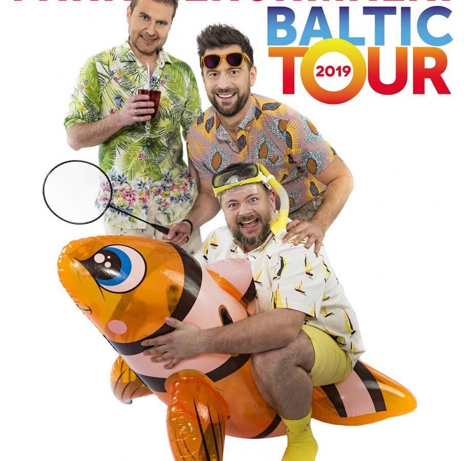 Paranienormalni w Amfiteatrze w Dźwirzynie: Baltic Tour 2019